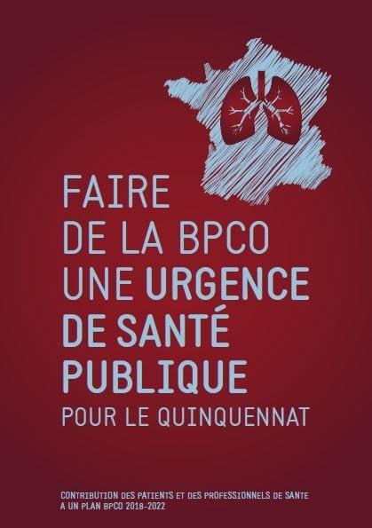 23 Novembre 2017 : Les associations de patients et professionnels de santé engagés dans la lutte contre la BPCO ont conçu et lancé un Livre Blanc appelant à « faire de cette maladie une urgence de santé publique pour le quinquennat »