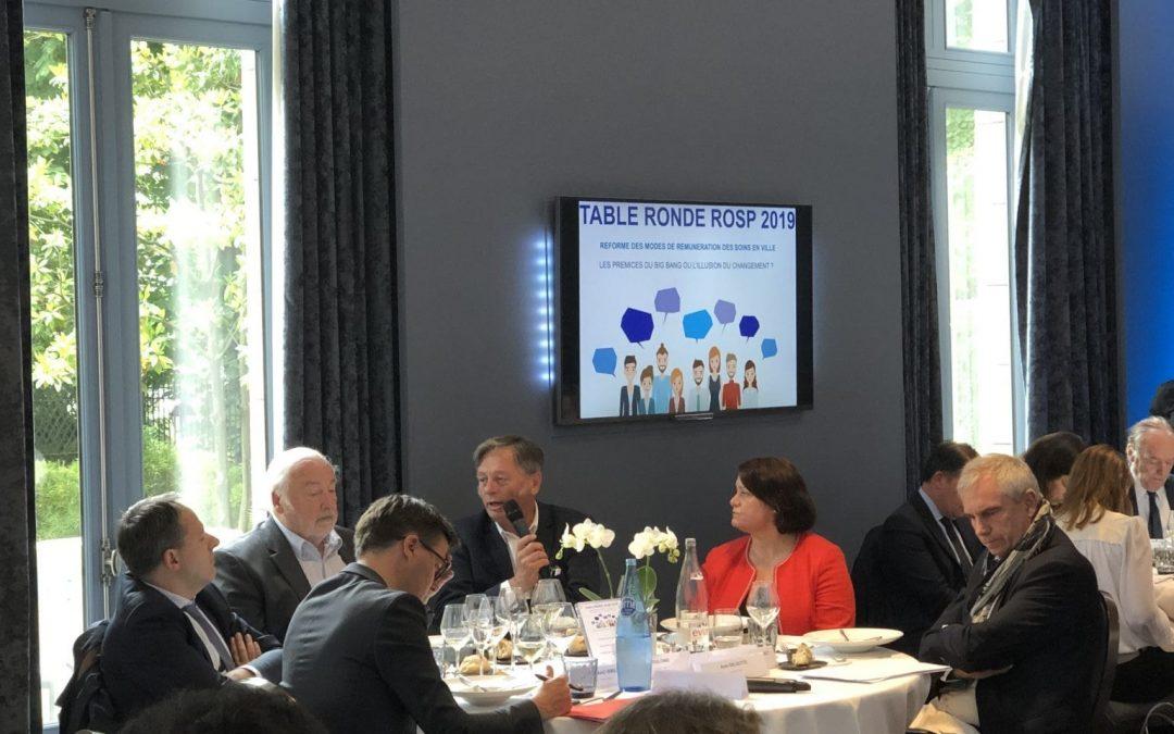 Table ronde ROSP, avec la participation de Nextep !